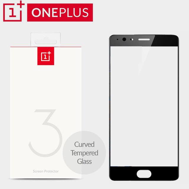 100-D-origine-Oneplus-3-OnePlus-3-Courbe-Trempé-Protecteur-D-écran-En-Verre-un-plus.jpg_640x640.jpg