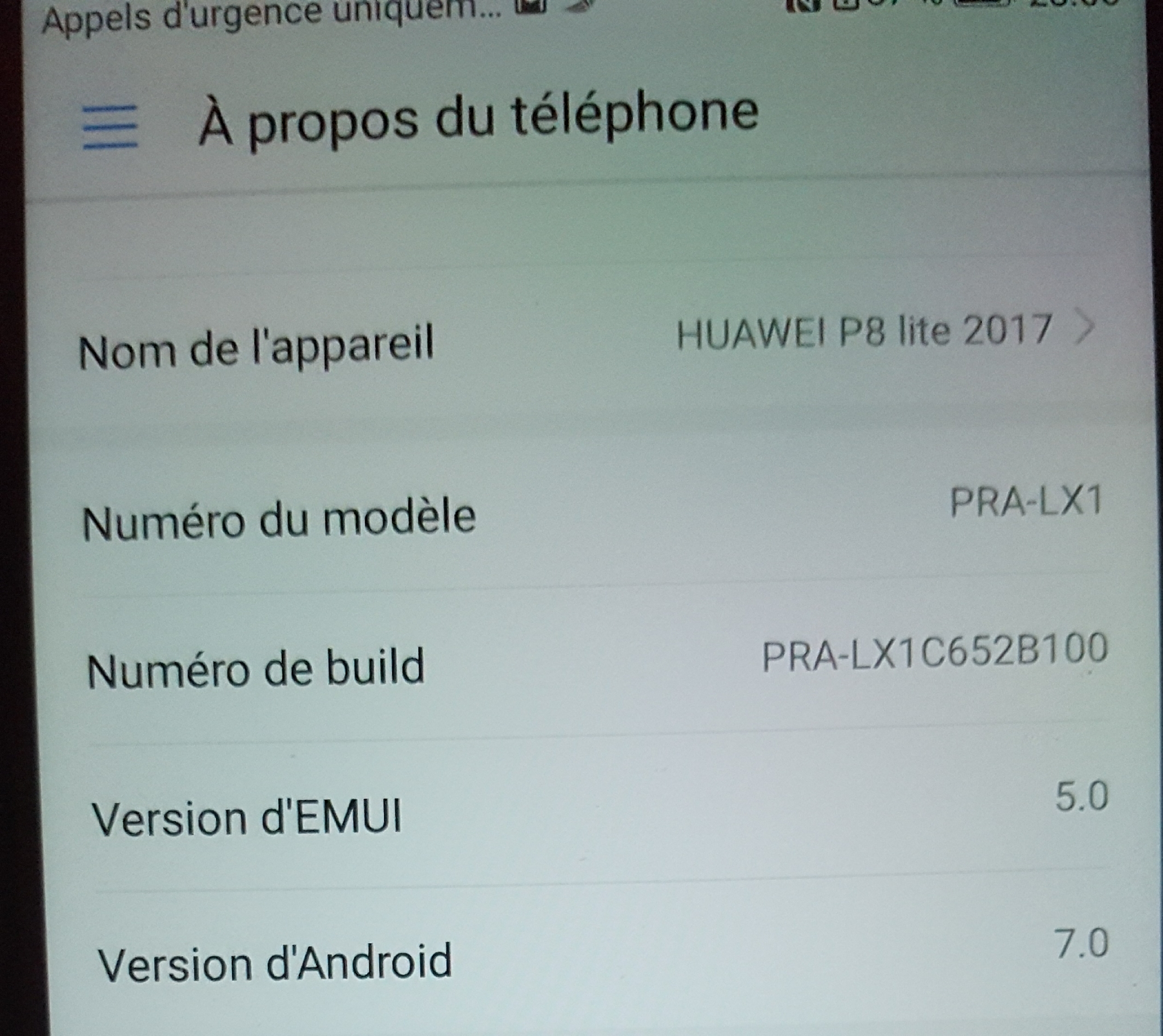 Comment enlever le mode démonstration ? - Huawei - Huawei P - Huawei