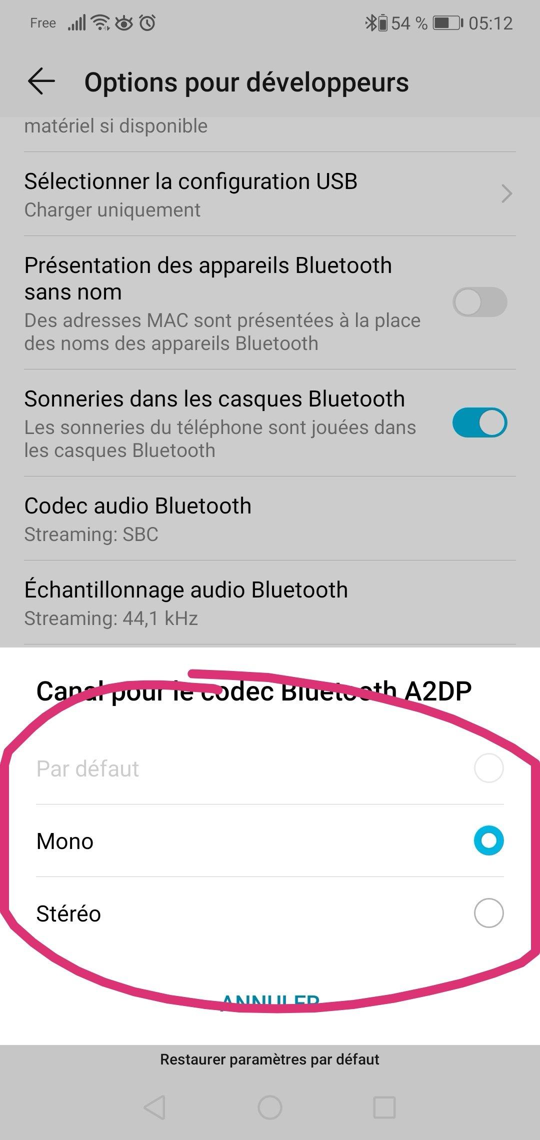 Affreuse qualité audio bluetooth - Honor - Honor 10 - Honor V10